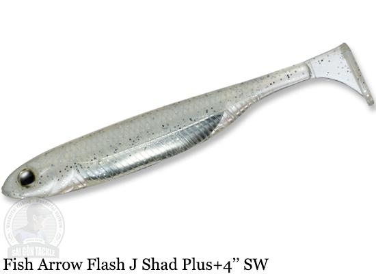 FISH ARROW FLASH J SHAD PLUS+ SW 4'' - 100