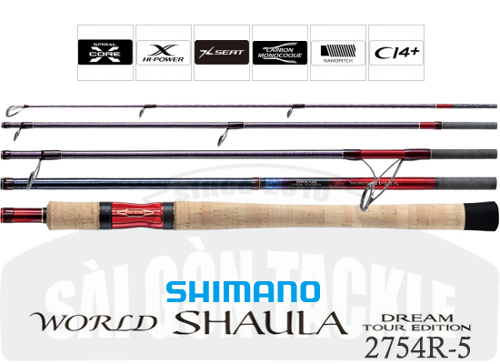 SHIMANO WORLD SHAULA TOUR EDITION 2754R-5 ( MADE IN JAPAN )