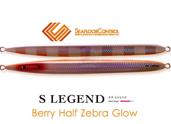 SEAFLOOR-CONTROL S LEGEND BERRY ZEBRA GLOW  60G