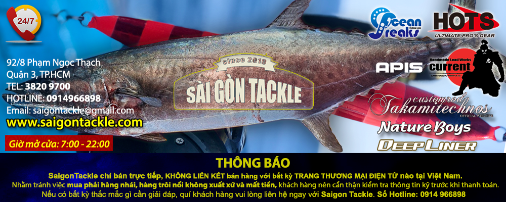 Fishing Tackle/Online shop SaigonTackle